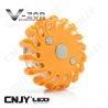 Balise led Vzor orange pour signalisation & balisage routier autonome magnétique et rechargeable