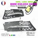 KIT DE 2 GRILLE DE CALANDRE CNJY FEUX DE JOUR LED DIURNE DRL BMW E90 E92 02-2008