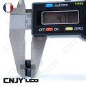 1 AMPOULE LED CNJY HLU 8W CULOT HP24 TYPE 24W BLANC 6000K CITROEN C5 C4 DS4 PEUGEOT 3008 5008 4007