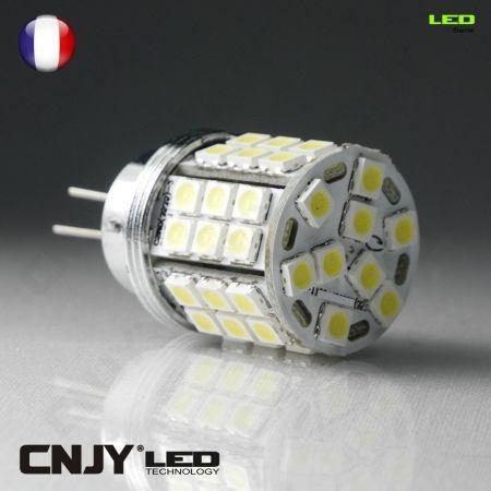 1 AMPOULE LED CNJY 45SMD CULOT HP24 HP24W TYPE 24W BLANC 6000K FEUX DE JOUR DIURNE CITROEN PEUGEOT