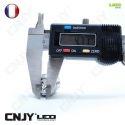1 AMPOULE LED CNJY 45SMD CULOT HP24 TYPE 24W BLANC 6000K FEUX DE JOUR DIURNE CITROEN C5 C4 DS4 PEUGEOT 508 3008 5008 4007