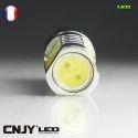1 AMPOULE LED CNJY HLU 8W CULOT HP24 TYPE 24W BLANC 6000K CITROEN C5 C4 DS4 PEUGEOT 508 3008 5008 4007