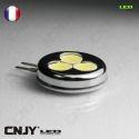 1 AMPOULE LED G4 1.5W 12V VDC BLANC FROID MAISON BATEAU CAMPING-CAR