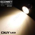1 AMPOULE ECOWATT LED CONFORT 3W GU10-MR16-E27 12VDC ou 220VAC PUISSANTE ET COMPACT MAISON BATEAU CAMPING-CAR