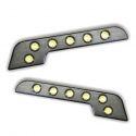 2 FEUX LED DIURNE DE JOUR + MODULE DRL MODELE MERCEDES STYLE 3 ALLUMAGE & EXTINCTION AUTOMATIQUE