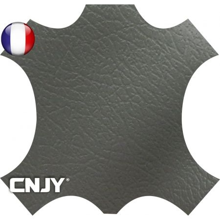 Rouleau de similicuir étanche gris