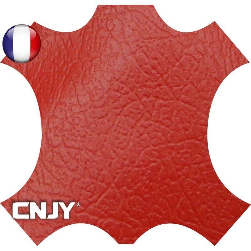 Rouleau de similicuir étanche rouge