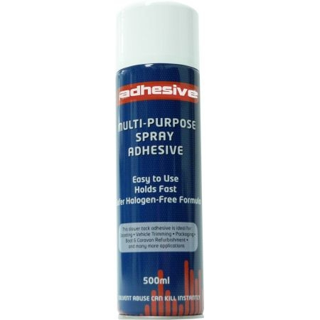 COLLE EN SPRAY ADHESIVE 500ML POUR PLACEMENT DE SIMILICUIR