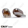 2 AMPOULES CHROME ORANGE WY21W T20 7440 ECLAIRAGE ORANGE POUR REPETITEUR & CLIGNOTANT