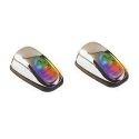 1 PAIRE DE GICLEUR LAVE GLACE A LED RGB MULTICOLORE AVEC CHANGEMENT DE COULEUR AUTOMATIQUE