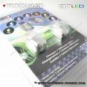 1 PAIRE DE GICLEUR LAVE GLACE A LED RGB MULTICOLORE AVEC CHANGEMENT DE COULEUR AUTO TUNING 12V