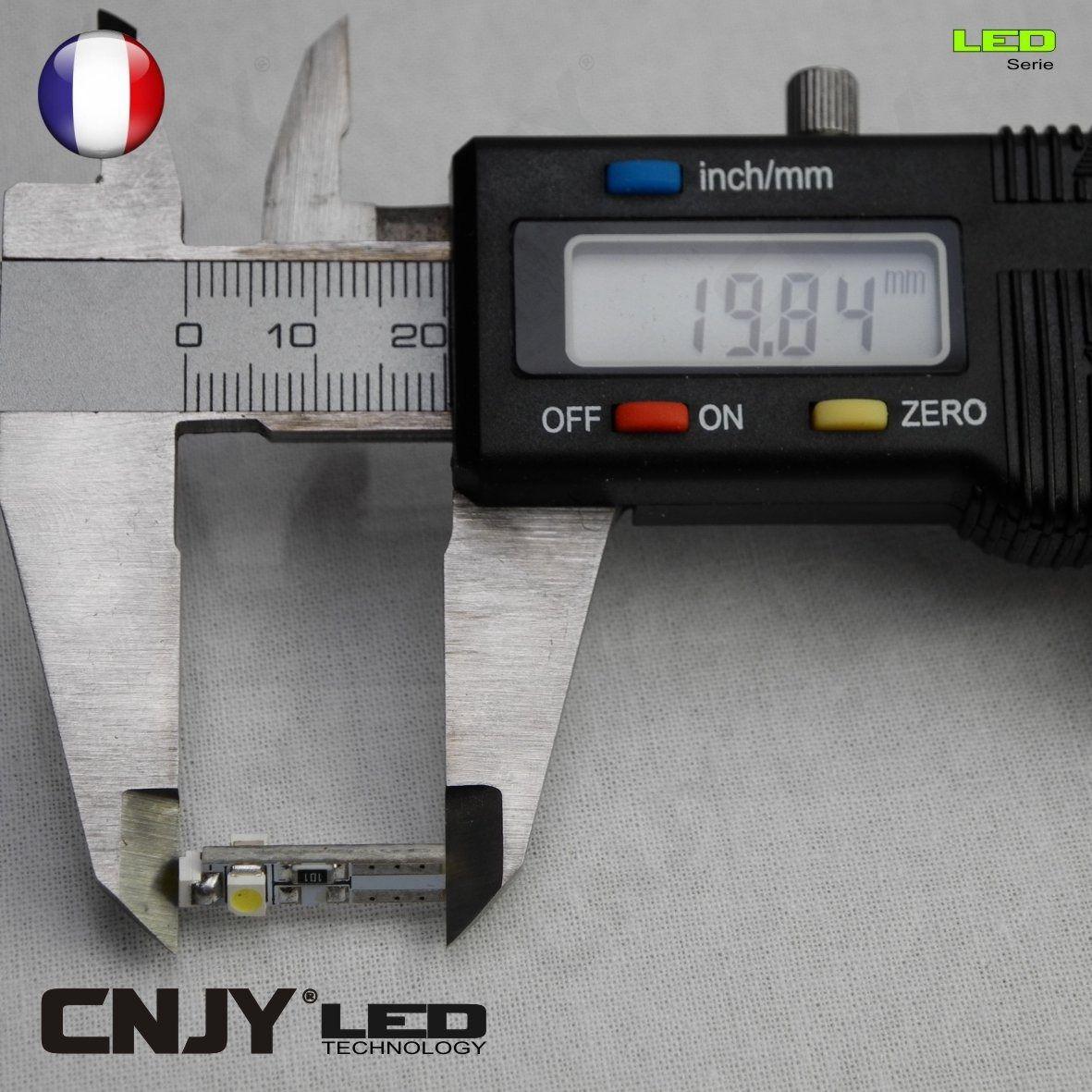 bulb,light,ampoule,led,auto,12v,t5,w1.2w,compteur,tableau de bord,