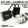 1 KIT H1 P14.5S 24V DE CONVERSION HID XENON ANTI ERREUR CANBUS V2 CONVERTISSEUR 35W 5.5AMP 9~32V POUR CAMION TRACTEUR