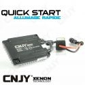1 BALLAST CONVERTISSEUR HID DE RECHANGE 24V - 35W QUICK START 6~32V