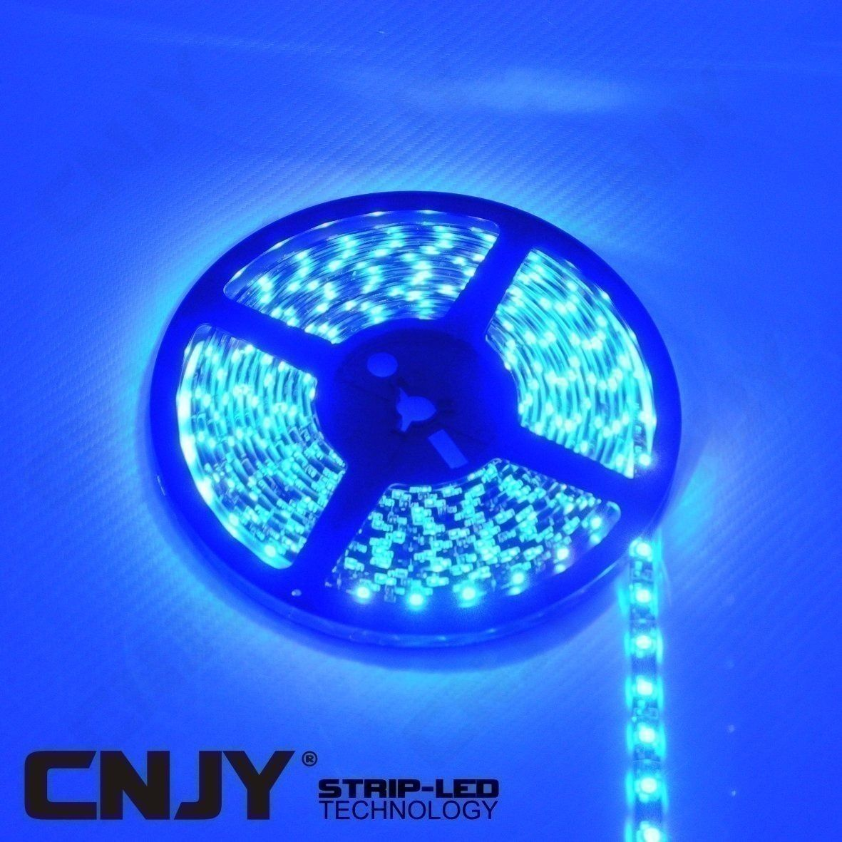 bande, led, flexible, strip, ruban, rouleau, decoration, BLEU,12v, bar, led, del, smd, etanche, aquarium, tuning