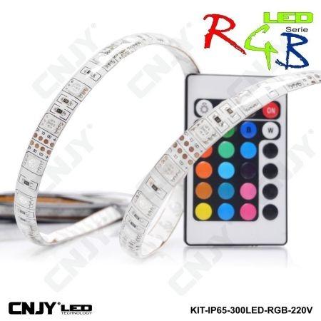 Bande led RGB multicouleur 220v