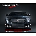FEUX DE JOUR DIURNE SCORPION'S STYLE DS3 10x 1W LED CHROME - KIT DRL INCLU