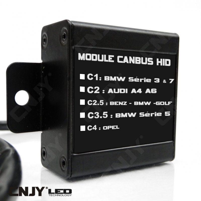 MODULE CANBUS HID C1-C2-C2.5-C3.5-C4 WARNING CANCELLER ODB BMW 3 5 7 AUDI A4 A6 OPEL GOLF VW