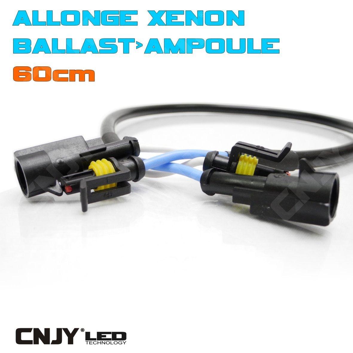 allonge pour montage de kit de conversion xenon hid rallonge ampoule