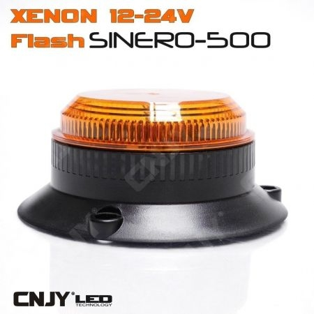 Feux à éclat 5w Sinéro orange type gyrophare xenon orange