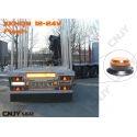 Feux à éclat 5w Sinéro orange type gyrophare 24v