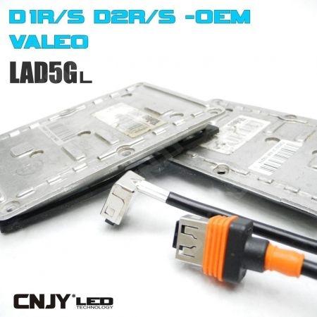 1 BALLAST OEM VALEO LAD5GL D1R/D1S D2R/D2S 35W ORIGINE VW/AUDI 3DO 907 391 B
