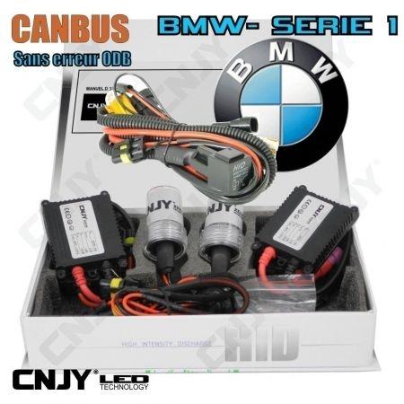 KIT DE CONVERSION HID XENON H7 35W SLIM + MODULE CANBUS ANTI ERREUR ODB SPECIAL BMW SERIE 1-E81 E82 E87 E88 F20 F21
