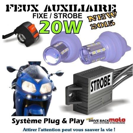 KIT AMPOULE TITAN POUR FEUX & MODE STROBO FLASH FEUX PENETRANT PACE CAR MOTO STROBO/FEUX DE JOUR FLASH DRIVEBACK