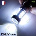 AMPOULE LED HI/LOW H6/H6M BA20D 12V/24V B35 CREE LED XPE 80W CODE/PHARE/ROUTE - FEUX MOTO MULTIVOLTAGE BI-POLAIRE