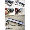 2 FEUX LED DIURNE DE JOUR + MODULE DRL-24 ALLUMAGE & EXTINCTION AUTOMATIQUE E4 H