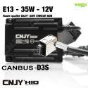 1 BALLAST DE RECHANGE HID D3S AC DIGITAL XENON 35W UNIVERSEL - AVEC SYSTEME CANBUS ANTI ERREUR - HAUTE QUALITE CNJY E13
