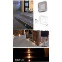 DALLE CARRE LED POUR ECLAIRAGE DE TERRASSE SALLE DE BAIN CUISINE IP67 INTERRIEUR/EXTERIEUR 12V ou KIT 220V