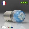 1 AMPOULE LED BA9S T4W A 4 LED RONDE 24V POLARISEE PLAFONNIER VEILLEUSE ECLAIRAGE DE PLAQUE CAMION