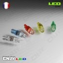 1 AMPOULE LED T5 - 1 LED RONDE WEDGE 1.2W