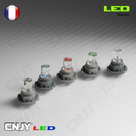 1 AMPOULE LED T4.2W NEO - 1 LED RONDE WEDGE