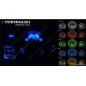 1 AMPOULE LED T5 - 1 LED RONDE WEDGE W1.2W - BLANC/BLEU/ROUGE/VERT/ORANGE