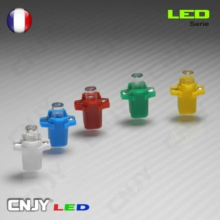 1 AMPOULE LED B8-3D - 1 LED WEDGE