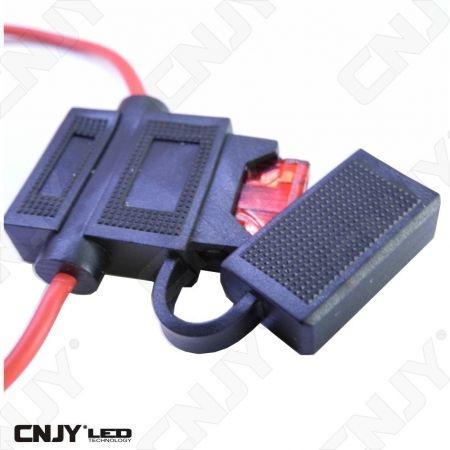 Porte fusible étanche pour fusible auto 5-10-15-20-25 Amp au choix