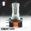 AMPOULE LED H15 CREE XPE 80W DRL CANBUS CULOT PGJ23T-1 6000K LENTICULAIRE 12V AUTO MOTO