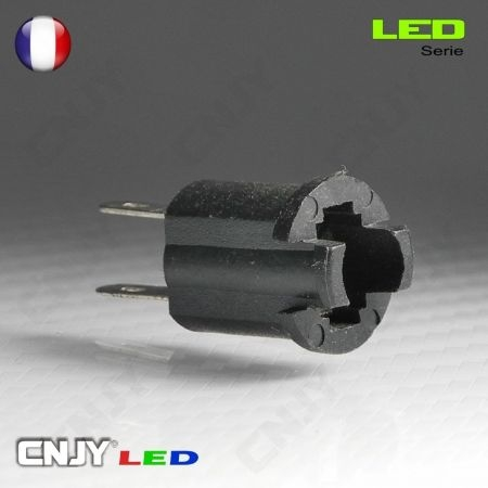 1 SUPPORT D'AMPOULE LED T5 CONTACT - SOQUET POUR COMPTEUR