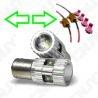 2 AMPOULES CREE LED 25W BAU15S Py21W POUR REPETITEUR AVANT SUR AUDI A4-B5