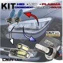 KIT TRIO XPL XENON+PLASMA+LED - 6 AMPOULES POUR FEUX DE CROISEMENT ROUTE ET VEILLEUSE 5000K / 6000K HID PASSAT CC