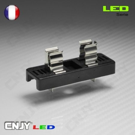 1 SUPPORT D'AMPOULE LED C5W CONTACT - SOQUET POUR PLAFONNIER & PLAQUE