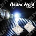 LOT DE 20 LED CMS 5050 SMD A SOUDER BLANC FROID 6000K 3.2V