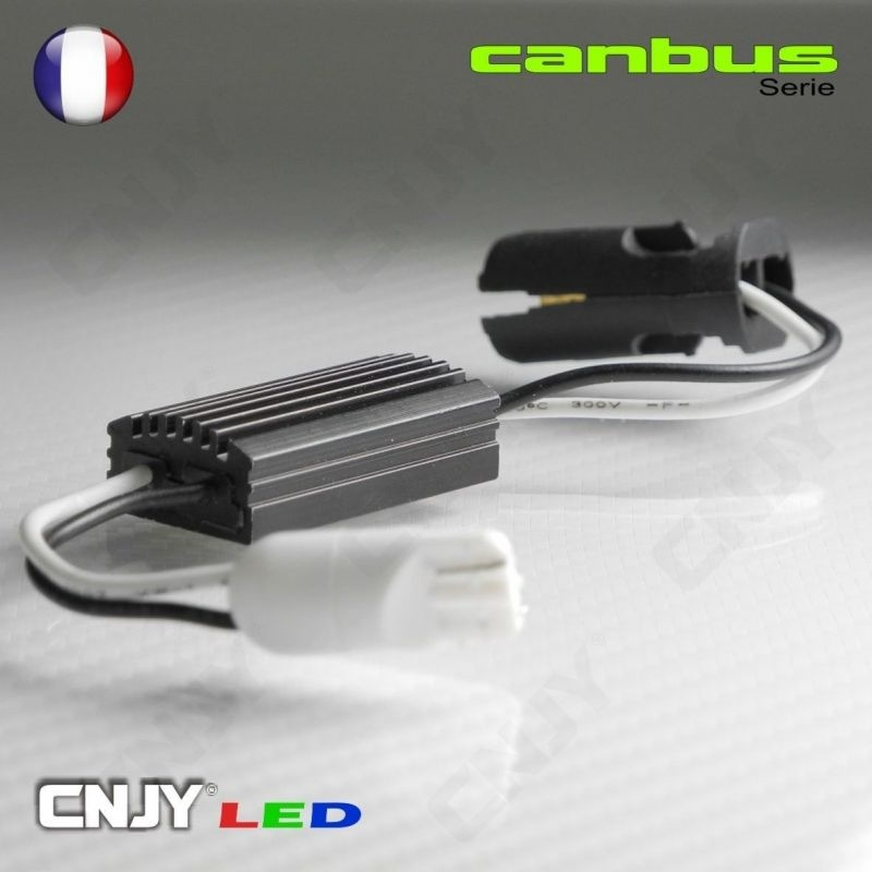 1 RESISTANCE ANTI ERREUR PLUG AND PLAY 5W- CORRIGE LE DEFAUT ODB