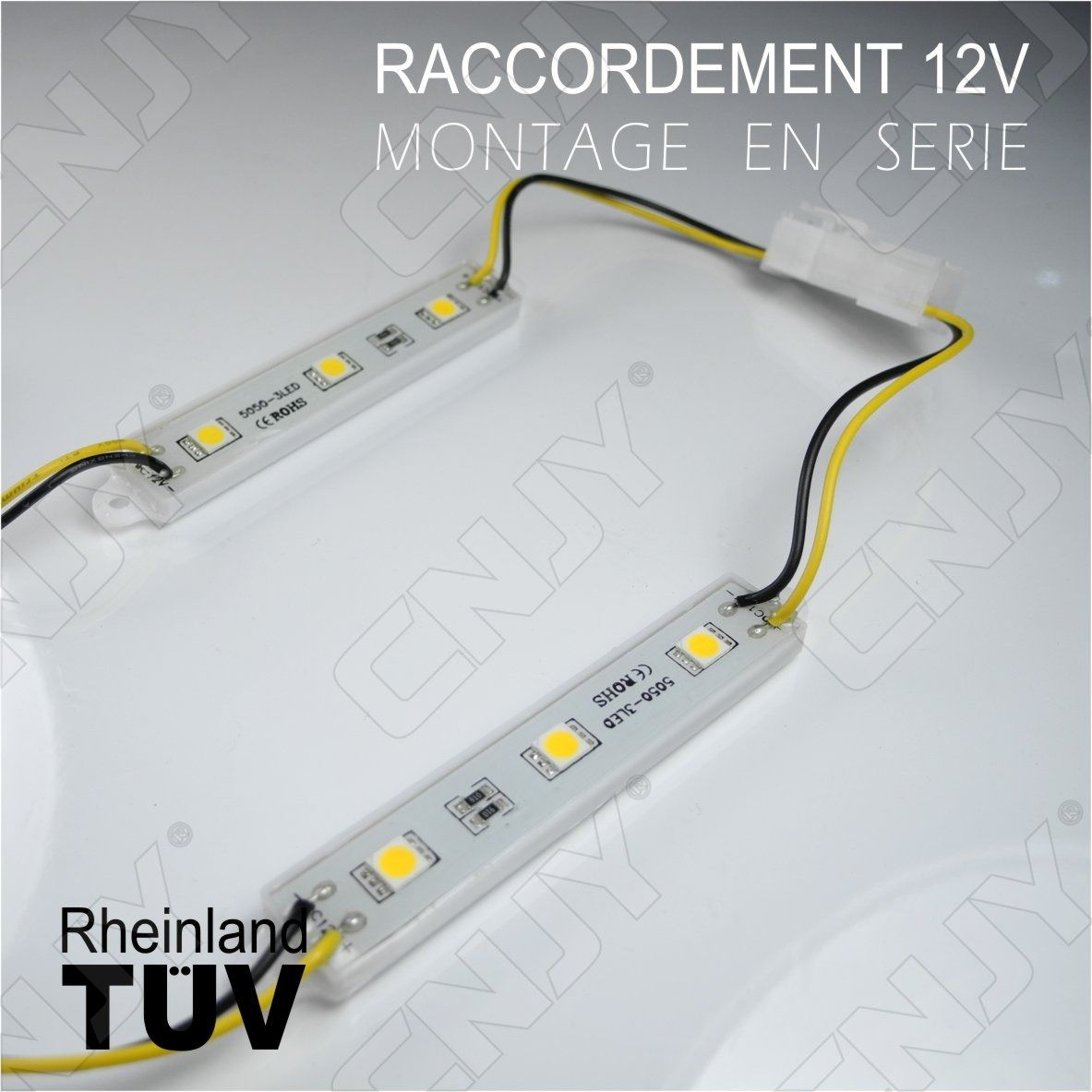 module,led,cable,smd,5050,blanc,froid,chaud,bleu,rouge,vert,orange,rose,violet,jaune,rgb,etanche,ip68,pour,marquage,publicitaire,enseigne,lumineuse,tuning,decoration,12V,DC