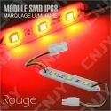 1 MODULE LED CABLE 3SMD 5050 ROUGE ETANCHE IP68 POUR MARQUAGE PUBLICITAIRE TUNING DECORATION 12VDC