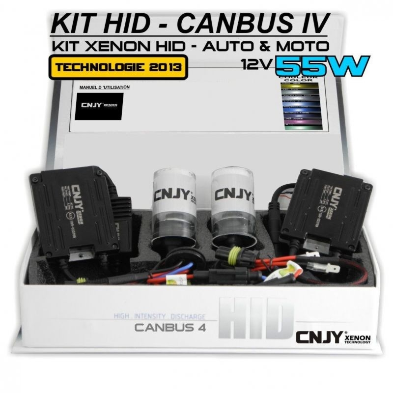 KIT XENON H11-55W HID BALLAST SLIM CNJY CANBUS 4 TECHNOLOGIE ANTI ERREUR ODB 2013 !!