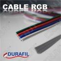 CÂBLE RGB RVB - 4 Brins - DURAFIL Vendu au mètre