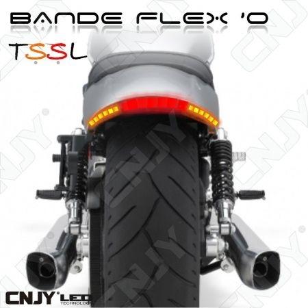 BANDE LED MOTO 35CM TSSL FEUX STOP-VEILLEUSE-REPETITEUR